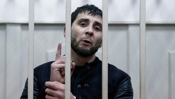 Один из подозреваемых в убийстве политика Бориса Немцова Заур Дадаев в Басманном суде города Москвы