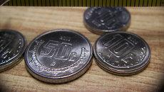 Песо. Национальная валюта Мексики. Архивное фото