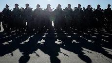 Военнослужащие российский армии. Архивное фото