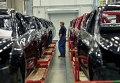 """Начало производства малогабаритных автомобилей Opel Astra на заводе General Motors в производственной зоне """"Шушары-2"""" Санкт-Петербурга"""