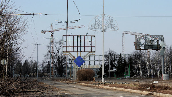 Ситуацияв Донбассе. Архивное фото