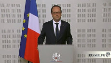 Это горе, которое должны чувствовать мы все - Олланд о крушении Airbus A32