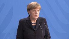 Все мы испытываем большую печаль - Меркель об авиакатастрофе во Франции