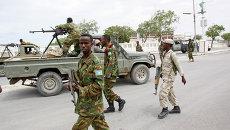 Солдаты армии Сомали. Архивное фото