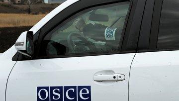 Представители ОБСЕ в Донецкой области, архивное фото
