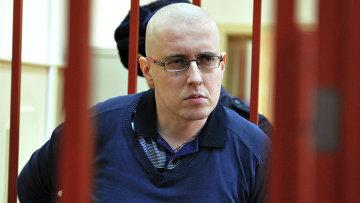 Националист Ильи Горячев в суде. Архивное фото