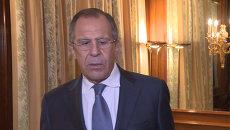 Глава МИД РФ назвал условия признания ядерной программы Ирана