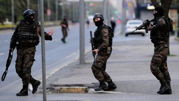 Турецкие силы безопасности. Архивное фото.