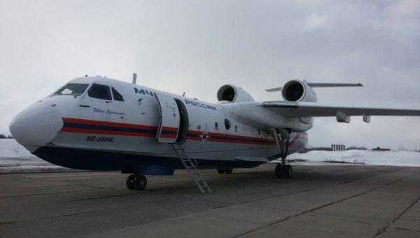 Самолет Бе-200. Архивное фото