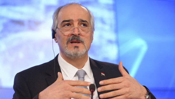 Глава делегации правительства Сирии Башар Джаафари. Архивное фото