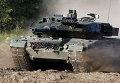 Немецкий военный танк Leopard-2