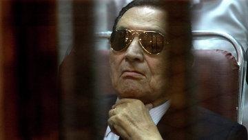 Экс президент Египта Хосни Мубарак. Архивное фото