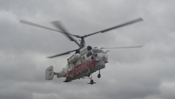 Вертолет КА-32 МЧС России. Архивное фото