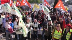 Десятки тысяч европейцев вышли на митинги против торгового соглашения с США