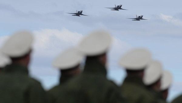 Ракетоносцы-бомбардировщики Ту-22м3. Архивное фото