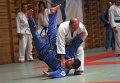 Президент РФ Владимир Путин во время занятий дзюдо