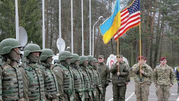 Украинско-американские командно-штабные учения Фиарлес Гардиан — 2015 во Львовской области. Архивное фото