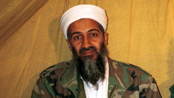Лидер Аль-Каиды Усама бен Ладен. Архивное фото