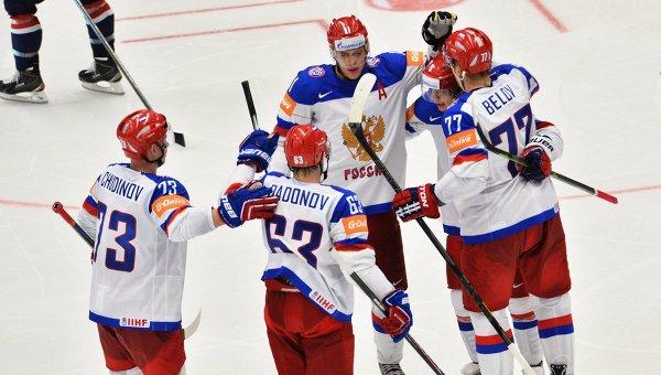 хоккей россия чм сша