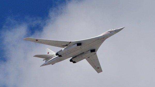 Российский бомбардировщик Ту-160. Архивное фото