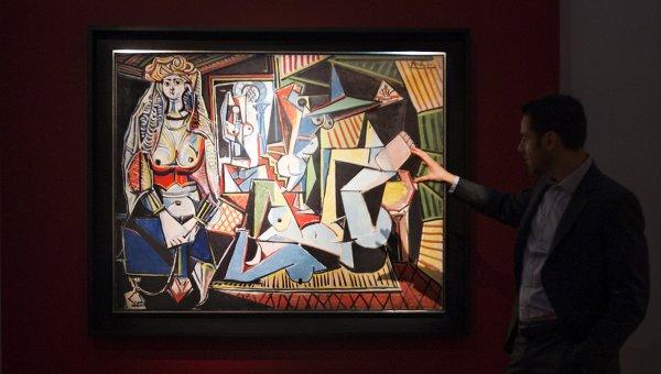 Работа Пабло Пикассо Алжирские женщины, проданная на аукционе в Нью-Йорке за рекордные суммы