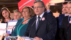 Серьезное предупреждение – президент Польши о результатах первого тура выборов