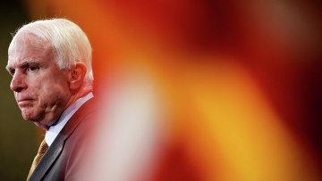 Сенатор США Джон Маккейн. 2015 год. Архивное фото