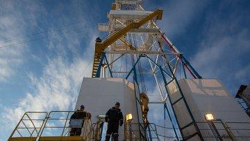 Ковыктинское газовое месторождение в Иркутской области. Архивное фото