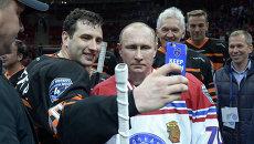 Гала-матч НХЛ в Сочи: хоккейная команда Путина выиграла со счетом 18:6