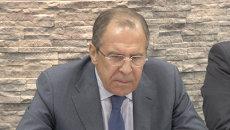 Попытки изолировать РФ не получаются - Лавров о значении визита Керри в Сочи