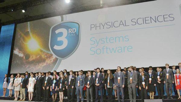 Вручение Grand Award финала Всемирного смотра-конкурса научных и инженерных достижений школьников в городе Питтсбург, США