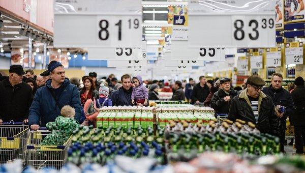 Недельная инфляция вРФ вконце августа вернулась нанулевую отметку
