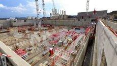 Строительство международного термоядерного экспериментального реактора. Архивное фото