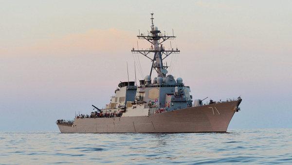 Эсминец Росс ВМС США
