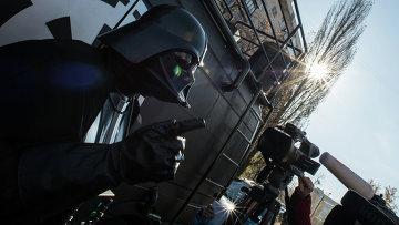 Лидер Интернет-партии Украины Дарт Вейдер отвечает на вопросы журналистов