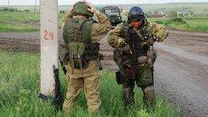 Батальонная разведка ополчения ДНР. Архивное фото