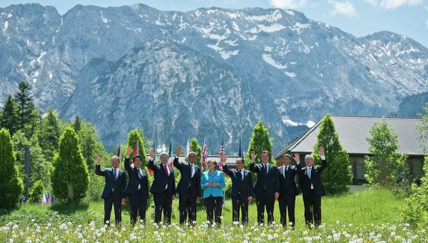 Групповая фотография лидеров G7, архивное фото