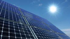 Модуль солнечной батареи. Архивное фото
