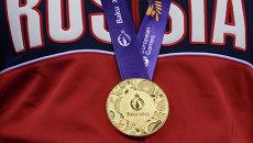 Золотая медаль Игр в Баку. Архивное фото