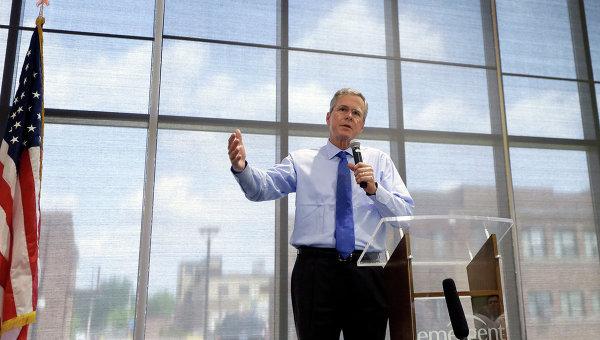 Бывший губернатор Флориды Джеб Буш, архивное фото