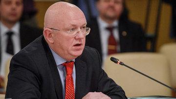 Заместитель министра иностранных дел РФ Василий Небензя . Архивное фото