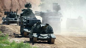 Военная техника на международном военно-техническом форуме АРМИЯ-2015. Архивное фото