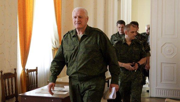 Александр Коломиец, представившийся генерал-майором вооруженных сил Украины
