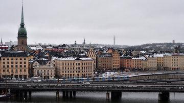 Стокгольм. Вид. Архивное фото.