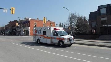 Карета скорой помощи в Канаде. Архивное фото