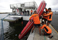 Сотрудники береговой охраны в Маниле, Филиппины