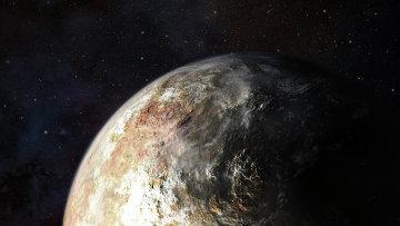 Так художник представил себе возможные облака в атмосфере Плутона