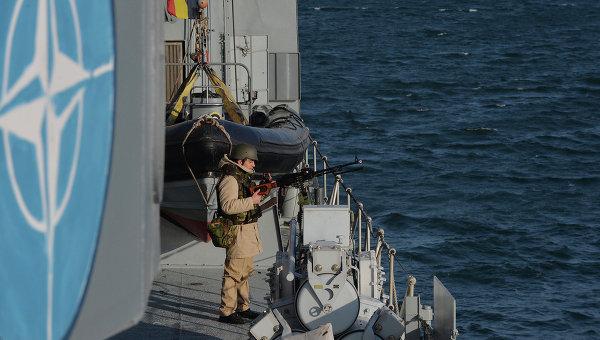 Учения НАТО в Черном море. Архивное фото