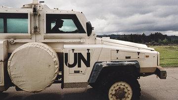 Машина миротворцев ООН