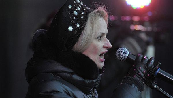 Член политсовета партии Свобода Ирина Фарион. Архивное фото